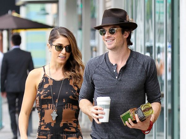 Somerhalder and Reed: We never argue! - Yahoo News Philippines