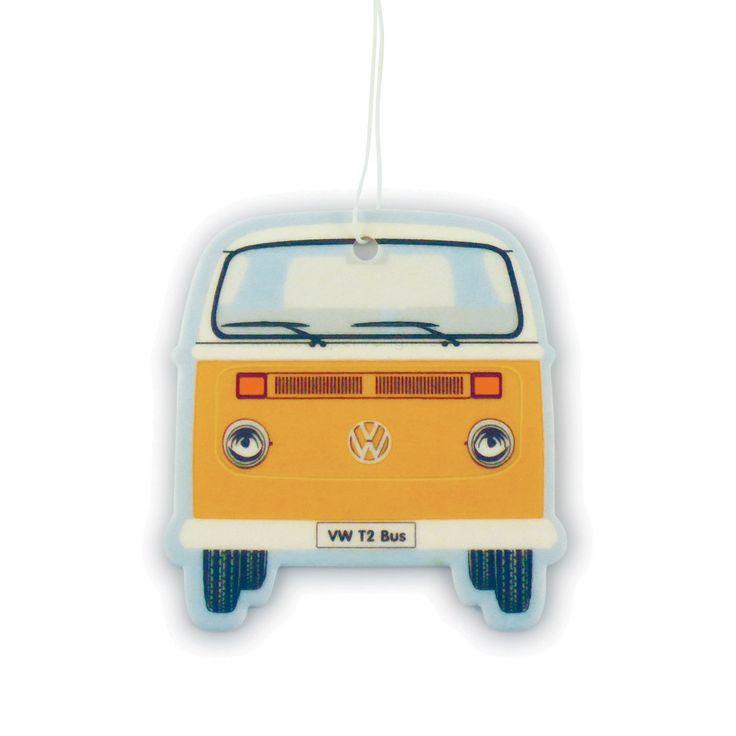 VW T2 Bay Campervan Air Freshener - Vanilla Orange