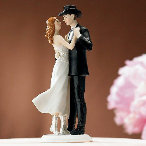 country wedding cake toppers (115.00)