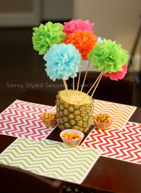 Hawaiian Luau Party  Savvy Styled Sessions and Events