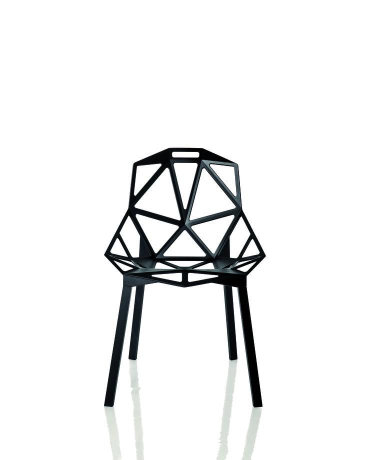 Chair One, Konstantin Grcic, Magis, 2003, courtesy Magis _(s)_Nuovi linguaggi