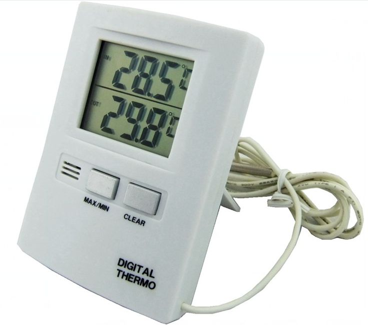 Indoor Outdoor Thermometer Will Display Both Indoor And Outdoor Temperature  Readings, Which Is Perfect For