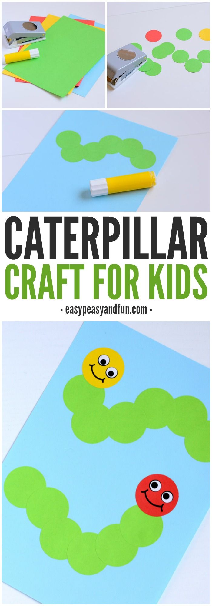 Caterpillar Craft – Paper Circle Crafts for Kids