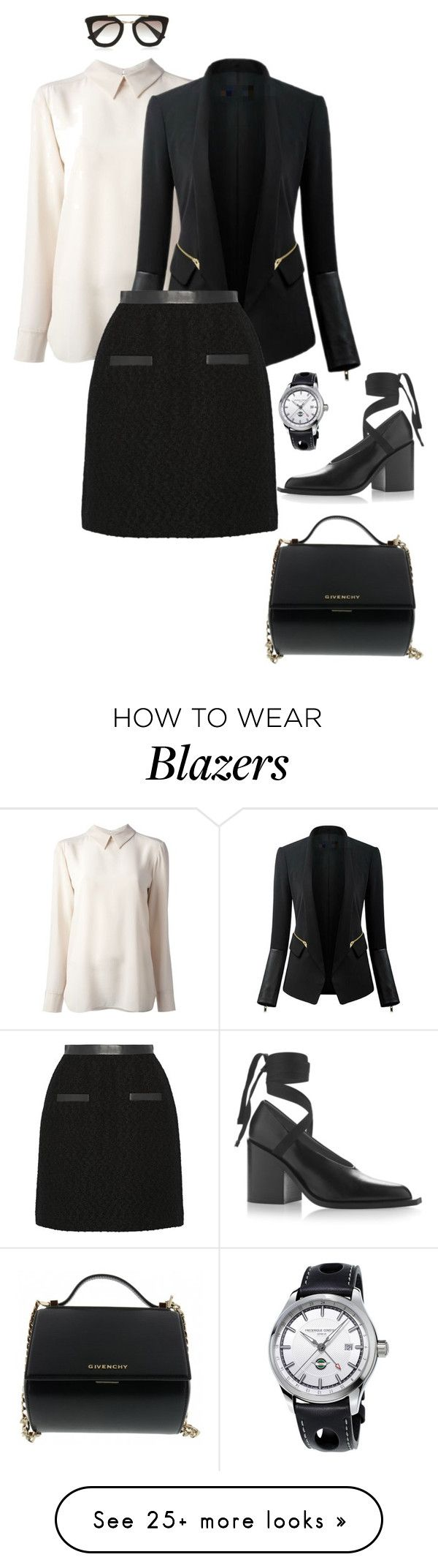 """""""Style#910"""" by mussedechocolate on Polyvore featuring STELLA McCARTNEY, Chicsense, Jason Wu, Givenchy, Marni, Frédérique Constant, Prada, women's clothing, women and female"""