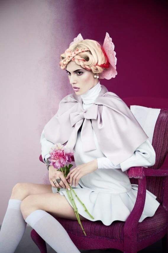 Harper's Bazaar Russia - Ruby by Erik Madigan Heck