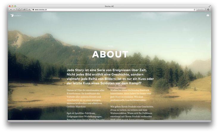 European Design - Stories WebsiteProject Award Information Agency URL: http://www.hinderlingvolkart.com Category: 12. Promotional Site Award: Silver Year: 2014