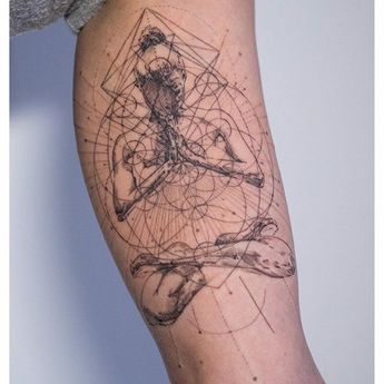 'Ameliorated Reverence' by Mowgli #mowgli #mowgliartist #graphical #graphicaltattoo #geometrictattoo #geometric #tattoo #tattrx #london #love #life #chakra #spiritualjourney #blacktattoo #sketchtattoo #avantgarde #art #tattooartist #swashdrive #buddism #lotuspose #meditation