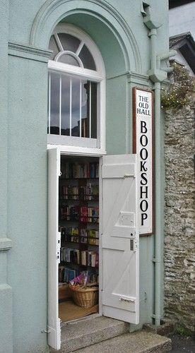 The Old Hall Bookshop, Looe, Cornwall, England