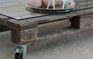 pallet coffe table - DIY