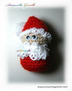 Free tutorial Santa Claus amigurumi crochet -- Babbo Natale all'uncinetto…
