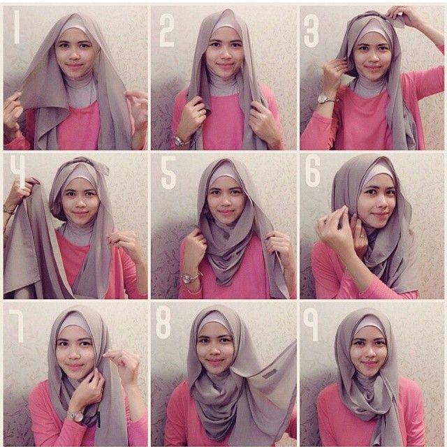 This hijab tutorial is too easy and stylish in its own way, you can make it using a maxi scarf or just a square one, it gives a beautiful lining on the front and covers everything that needs to be…