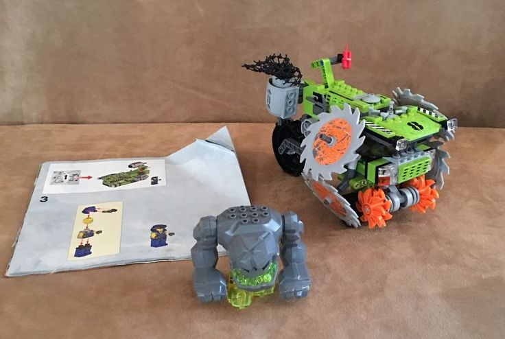 8963 Lego Complete Power Miners Rock Wrecker instructions monster Geolix #LEGO
