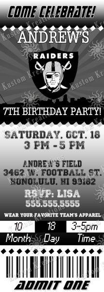 nfl-oakland-raiders-ticket-birthday-invitation