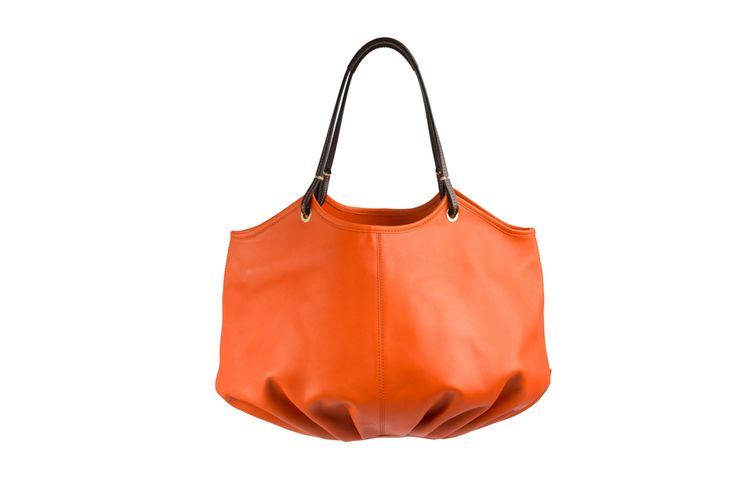 The quality of this gorgeous Natural Wax Leather bag is clear to see - The Burnt Orange Talega