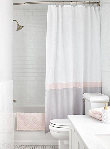 Les 25 meilleures id es concernant rideaux de douche - Rideaux de douche design ...