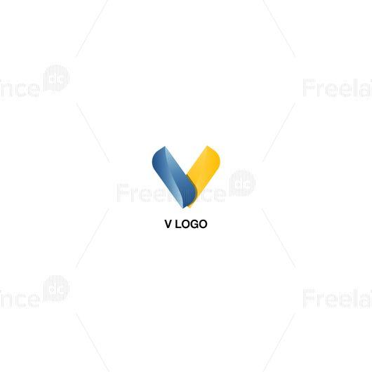 Векторная графика v logo, Freelance.Discount