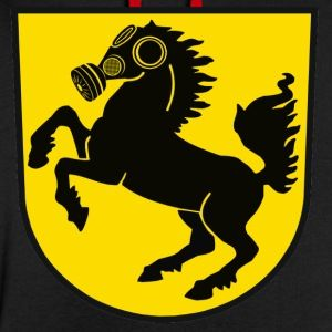 Stuttgart Wappen Feinstaub City - Kontrast-Kapuzenpullover