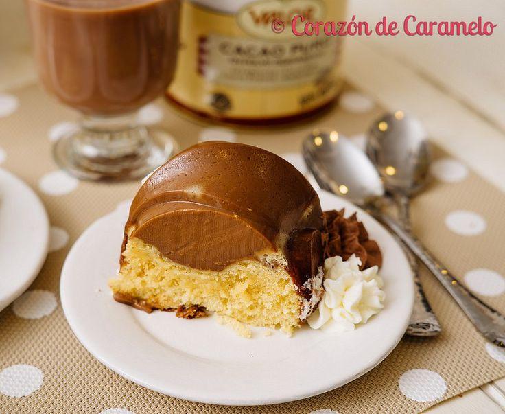 Bizcoflan de Chocolate y Brownie