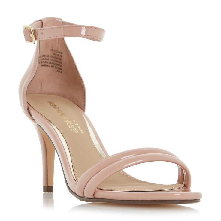 HEAD OVER HEELS LADIES MIMOSSA - Two Part Mid Heel Sandal - nude | Dune Shoes Online