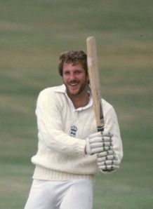 Sir Ian Botham - captained English cricket team. Holds records for batting and bowling in English test cricket.