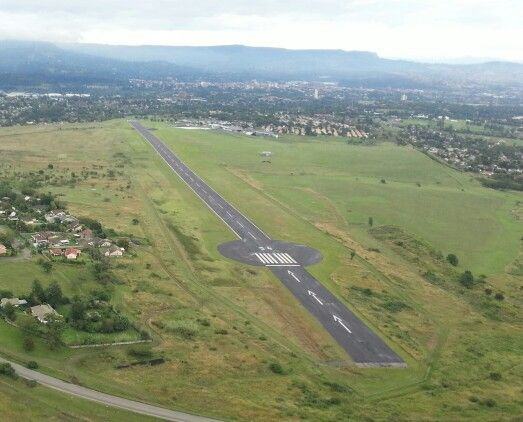 PMB airport used for our controlled training