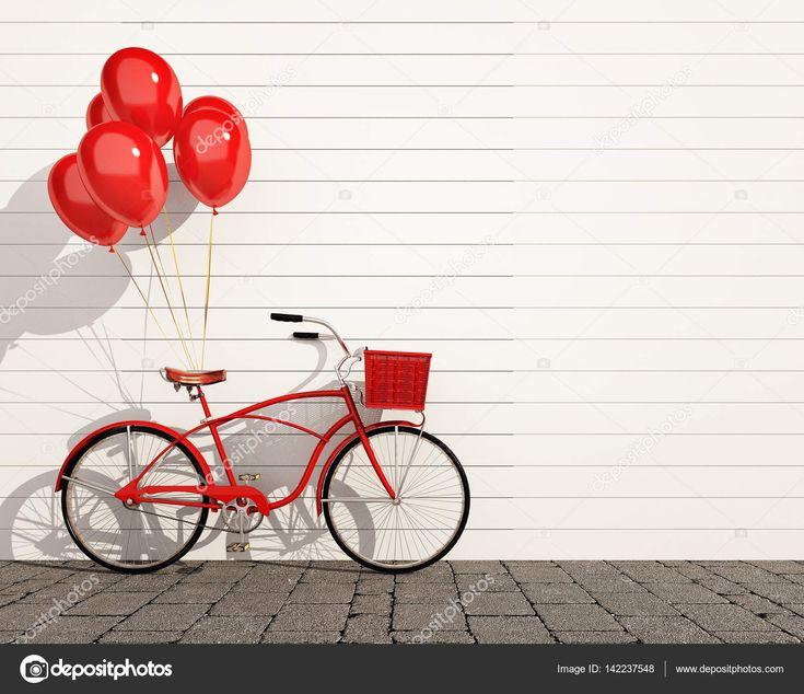 Макет плаката и холст в старинный битник чердак интерьера фон с велосипедов, 3d визуализация