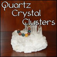 GEMFormulas :: Placing your necklaces on Quartz Crystal Clusters is another very easy way to enjoy gemstone energies. Excellent for young children