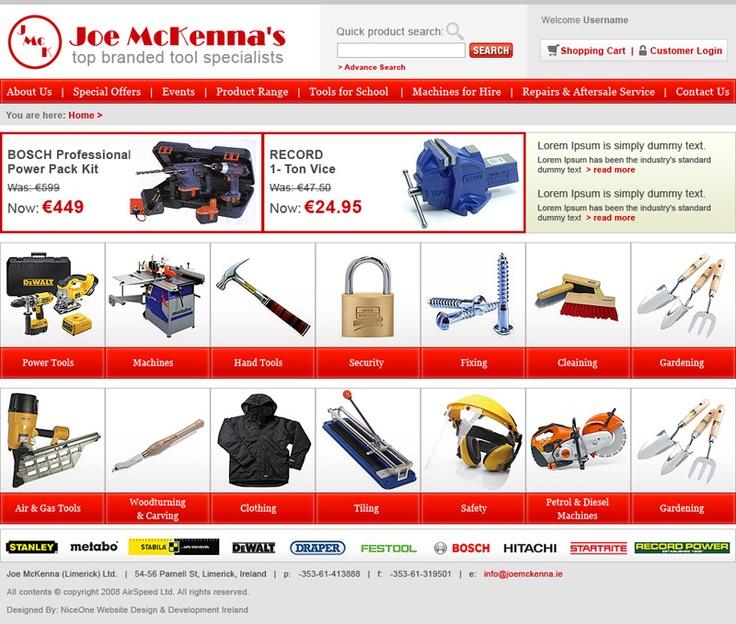Joe Mckenna's Online Shop