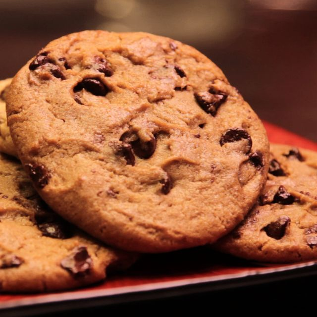 Mrs. Field's Chocolate Chip Cookie Recipe! I use it all the time!! I add a chopped bar of good chocolate as well as a bag of Nestle chocolate chunk chips!