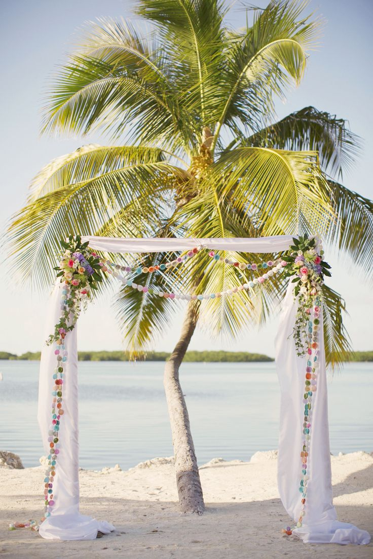 DIY Pastel Islamorada Wedding