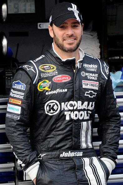Jimmie Johnson at Bristol---I don't know what it is about this man but i think he is soo hott especially when he smiles!!!