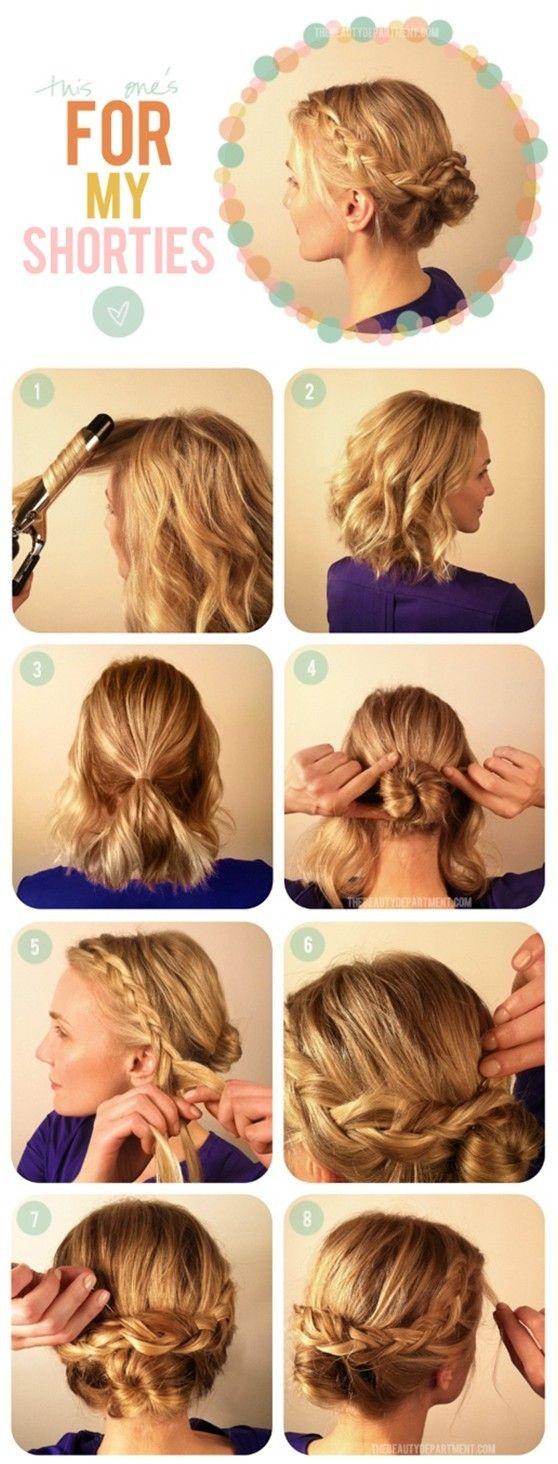 Medium hair up