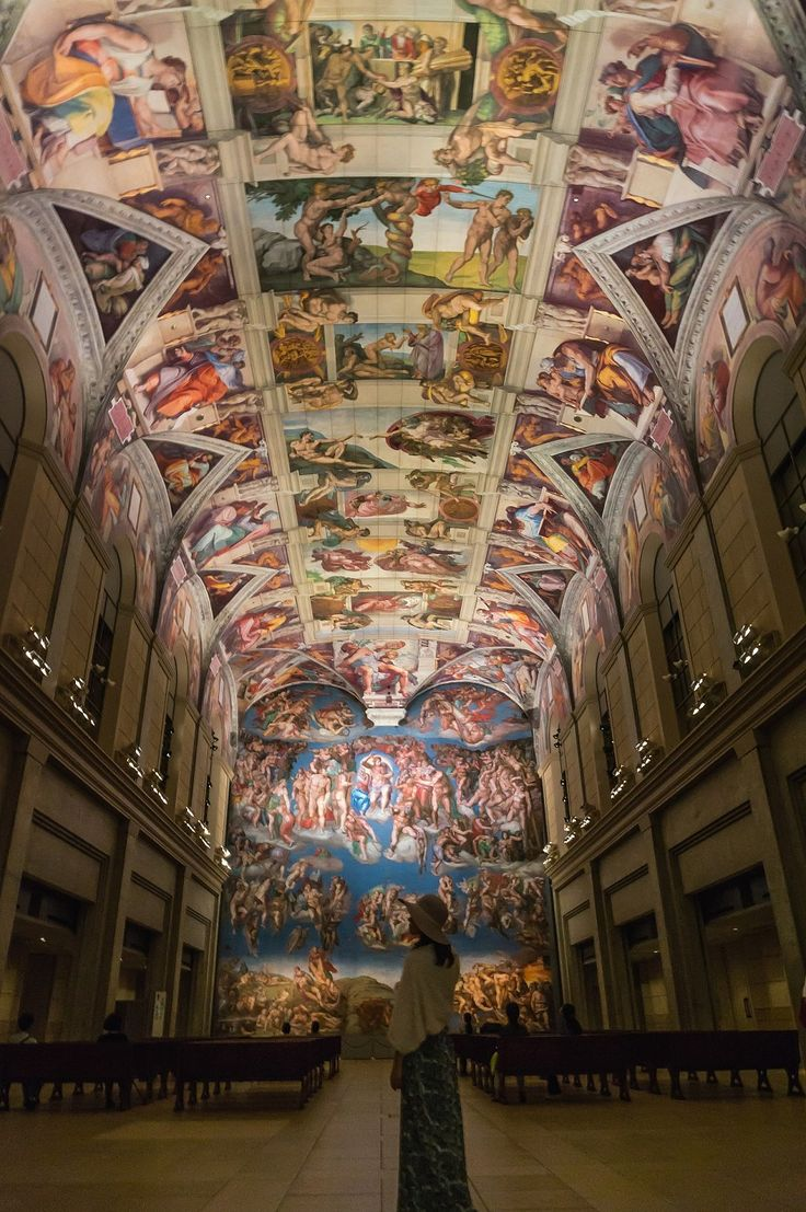 Otuka Museum of Art/Reproduced Cappella Sistina In The Same Size