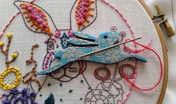 Check out this item in my Etsy shop https://www.etsy.com/uk/listing/492508480/needleminder-in-blue-wood-magnetic-hare