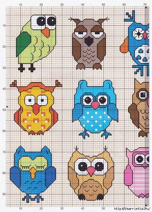 Uiltjes - deel 1   Owls - part 1