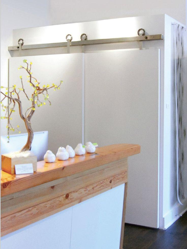 17 best images about inspiration barn door on pinterest - Bypass closet doors for bedrooms ...