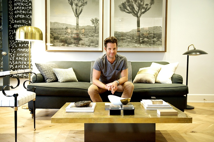 Nate Berkus at home in the west village (Matchbook Feb '13; photograph by Carol Dronsfield)Nate Berkus, West Village, Trees Artworks, Carol Dronsfield, Matchbook Feb, Joshua Trees, Village Matchbook, Tops Tees, Knits Sweaters