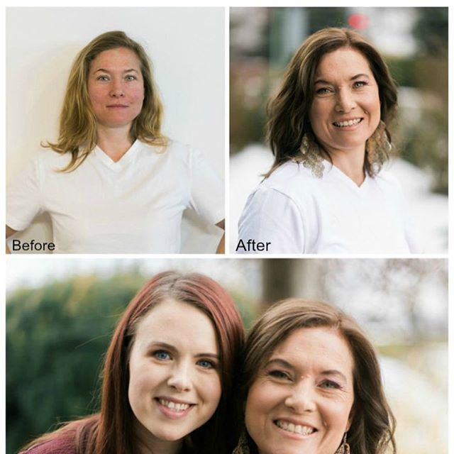 Check out Collen's before and after transformation from our stylist Sara for our New Year New You Make Over! Go to KelownaNow.com to see the full tutorial  #makeover #beforeandafter #newyear #newme #fresh #kelowna #kelownanow #beyourownkindofbeautiful  Hair @sjacobi  Photography @samanthabanksphotography  Make Up @okanaganmakeupgoddess  Article blog @kelownanow