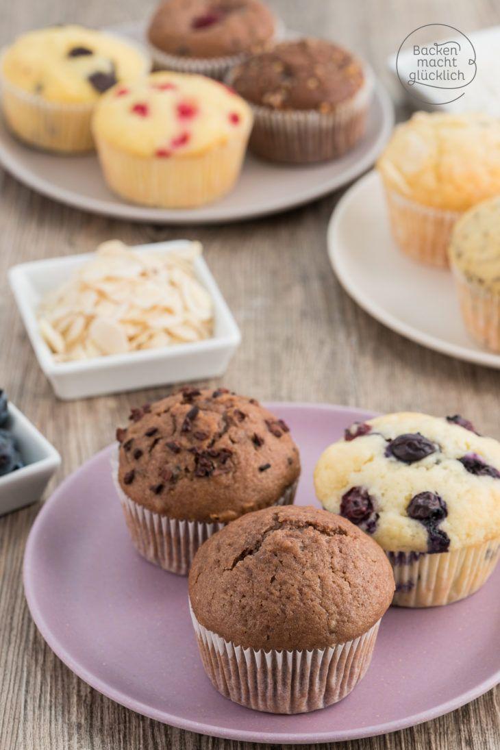 Muffin Grundrezept Öl Joghurt
