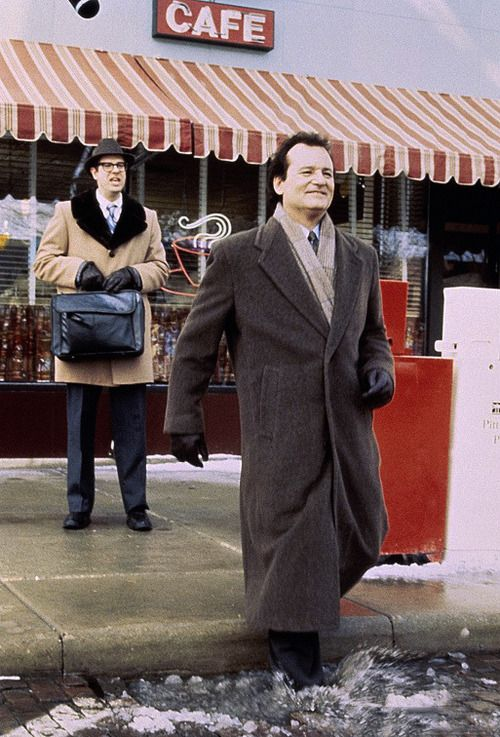 """Watch out for that first step, it's a doozy."" - Stephen Tobolowsky and Bill Murray in ""Groundhog Day"" (1995)"
