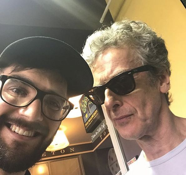corkers94 Bumping in to Peter Capaldi...