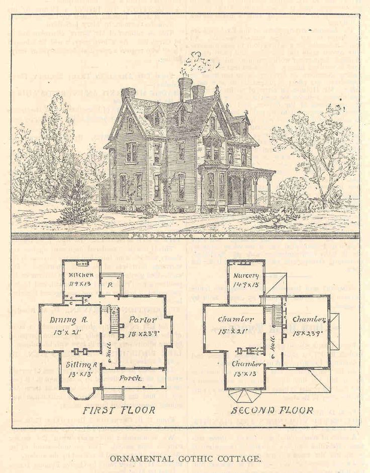 Gothic House Plans With Turrets Old Houses I Love