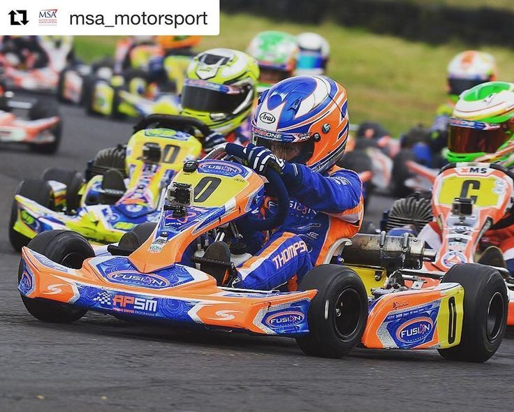 @msa_motorsport with A dominant Harry Thompson powered to a double victory at Fulbeck in the MSA British Cadet Kart Championship last weekend. Thompson led the first two thirds of the first final until the chasing Jonny Wilkinson found a gap in his defence on lap 10. Thompson waited until the penultimate lap to get his revenge at the Pits Corner Wilkinson then falling to third behind Joesph Taylor. In the second final Thompson enjoyed a lights-to-flag victory with Wilkinson and Zak OSullivan…