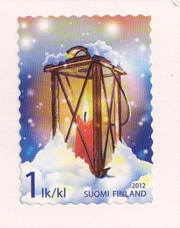 Finland Postage Stamp by Mailbox Happiness-Angee at Postcrossing, via Flickr
