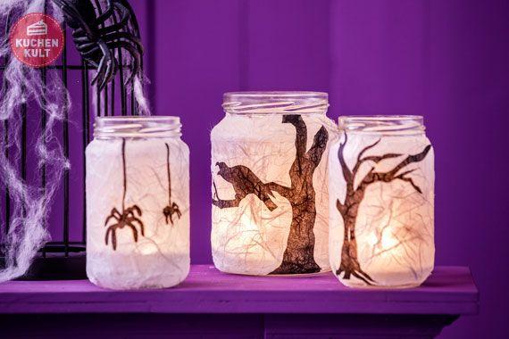 #Windlicht- #Deko, #Halloween, #decoration, #light, #lantern