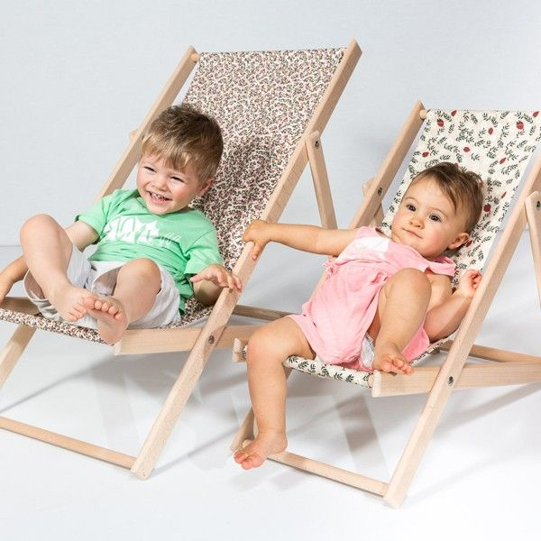 Coole strandstoel kids | Happy Zoe