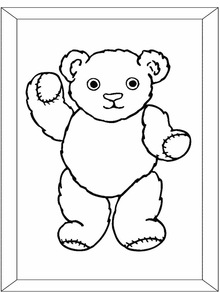 1000 images about teddy bears picnic on pinterest teddy for Teddy coloring pages