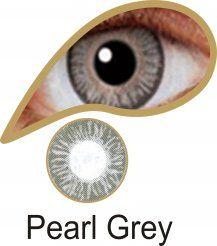 MesmerEyez Naturalz 1 Month Pearl Grey Contact Lenses