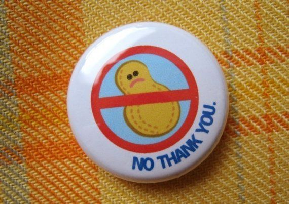 Peanuts+No+Thank+You++1+pin/magnet+by+CunningandCrafty+on+Etsy,+$2.00