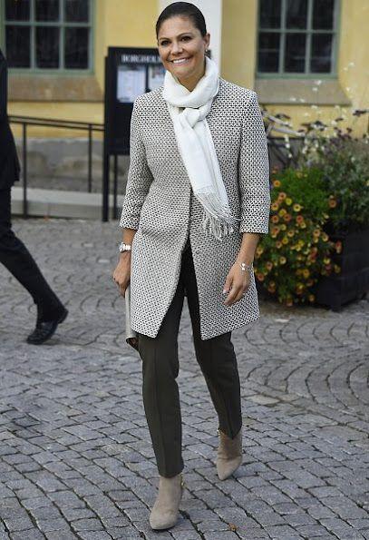HRH Crown Princess Victoria of Sweden at the Öland Harvest Festival in Borgholm, Sept. 2016